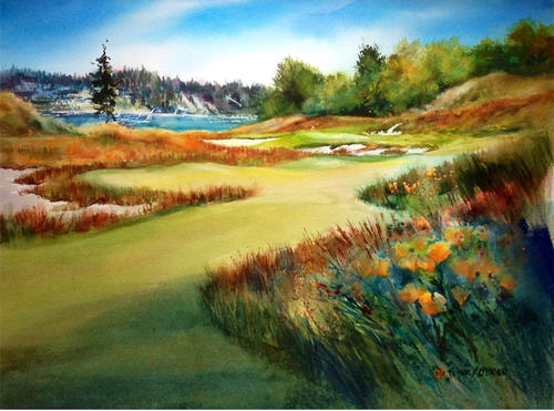 Limited Edition - Chambers Bay Painting